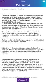 Apple Apple iPhone 6s Plus - iOS 10 - Applications - MyProximus - Étape 13