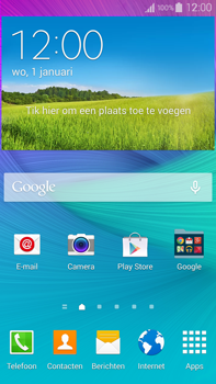 Samsung N910F Galaxy Note 4 - WiFi and Bluetooth - Manual configuration - Step 2