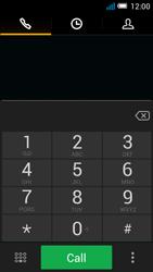 Alcatel OT-7041X Pop C7 - Voicemail - Manual configuration - Step 4
