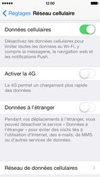 Apple iPhone 5 - Internet et connexion - Activer la 4G - Étape 4