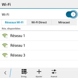 BlackBerry Classic - WiFi et Bluetooth - Configuration manuelle - Étape 7