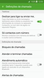 Samsung Galaxy A3 A310F 2016 - Chamadas - Como bloquear chamadas de um número -  6