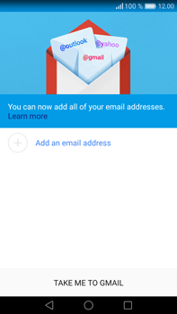 Huawei Mate 8 - Email - 032a. Email wizard - Gmail - Step 5