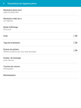 Samsung Galaxy Tab A - Photos, vidéos, musique - Créer une vidéo - Étape 6