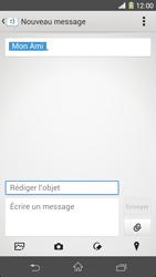 Sony Xpéria Z1 - Contact, Appels, SMS/MMS - Envoyer un MMS - Étape 13