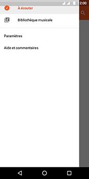 Motorola Moto G6 - Photos, vidéos, musique - Ecouter de la musique - Étape 6