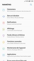 Samsung Galaxy J3 (2017) - Wifi - configuration manuelle - Étape 3