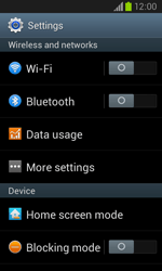 Samsung I8260 Galaxy Core - Network - Usage across the border - Step 4