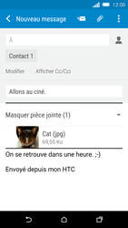 HTC One M8s - E-mail - Envoi d