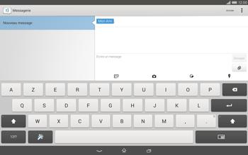 Sony Xperia Tablet Z2 (SGP521) - MMS - envoi d'images - Étape 9