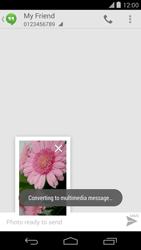 LG D821 Google Nexus 5 - MMS - Sending a picture message - Step 12