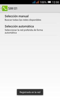 Alcatel Pop C9 - Red - Seleccionar una red - Paso 13