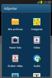 Samsung S6310 Galaxy Young - E-mail - Escribir y enviar un correo electrónico - Paso 11
