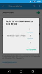Sony Xperia Z5 - Internet - Ver uso de datos - Paso 7