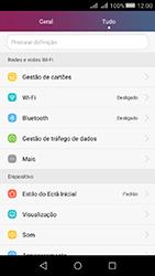 Huawei Y5 II - Internet no telemóvel - Como ativar os dados móveis -  3