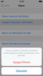 Apple iPhone SE - iOS 11 - Repor definições - Repor definições de fábrica do telemóvel -  7