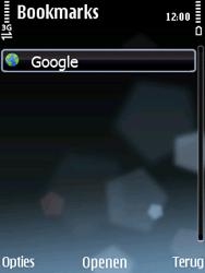 Nokia E75 - Internet - Hoe te internetten - Stap 9