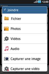 Samsung Galaxy Ace - E-mails - Envoyer un e-mail - Étape 9