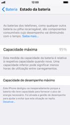 Apple iPhone SE - iOS 11 - Bateria - Desactivar a gestão de desempenho -  7