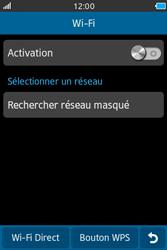 Samsung Wave M - Internet et connexion - Accéder au réseau Wi-Fi - Étape 5