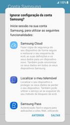 Samsung Galaxy S7 Edge - Android Nougat - Primeiros passos - Como ligar o telemóvel pela primeira vez -  17