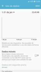 Samsung Galaxy S7 Edge - Rede móvel - Como ativar e desativar uma rede de dados - Etapa 6