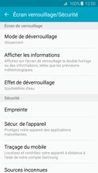 Samsung Galaxy S6 - Sécuriser votre mobile - Activer le code de verrouillage - Étape 5