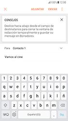Samsung Galaxy S6 - Android Nougat - E-mail - Escribir y enviar un correo electrónico - Paso 9