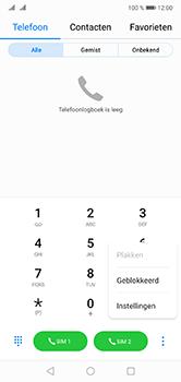 Huawei P20 Lite Dual-SIM (Model ANE-LX1) - Voicemail - Handmatig instellen - Stap 4