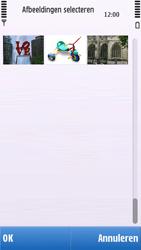 Nokia C6-00 - E-mail - Hoe te versturen - Stap 12