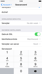 Apple iPhone 6 iOS 8 - E-mail - Account instellen (POP3 met SMTP-verificatie) - Stap 20
