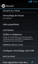 Bouygues Telecom Bs 402 - Sécuriser votre mobile - Activer le code de verrouillage - Étape 5
