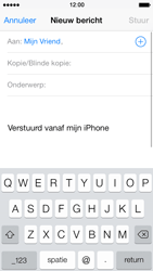 Apple iPhone 5 iOS 7 - E-mail - E-mails verzenden - Stap 6