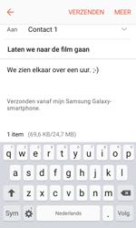 Samsung Galaxy Xcover 3 VE - E-mail - Hoe te versturen - Stap 18