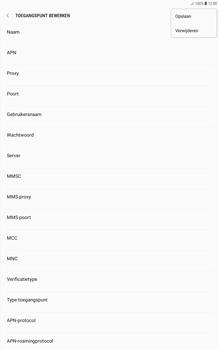 Samsung galaxy-tab-a-10-1-android-oreo - Internet - Handmatig instellen - Stap 17
