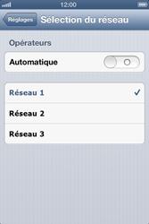 Apple iPhone 4 S - iOS 6 - Réseau - utilisation à l'étranger - Étape 9