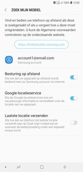 Samsung Galaxy A7 (2018) - Toestel - stel Zoek mijn mobiel in - Stap 9