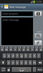 Samsung I8260 Galaxy Core - Mms - Sending a picture message - Step 4