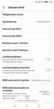 Huawei Mate 10 Pro Dual-SIM (Model BLA-L29) - SMS - SMS-centrale instellen - Stap 6