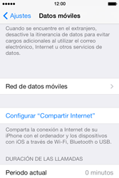Apple iPhone 4S iOS 7 - Internet - Configurar Internet - Paso 5