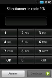 Samsung Galaxy Ace - Sécuriser votre mobile - Activer le code de verrouillage - Étape 7