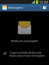 Samsung Galaxy Pocket Neo - SMS - Como configurar o centro de mensagens -  4