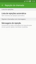 Samsung Galaxy J5 - Chamadas - Como bloquear chamadas de um número -  7