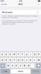 Apple iPhone 6 Plus iOS 8 - Internet et connexion - Partager votre connexion en Wi-Fi - Étape 8