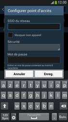 Samsung Galaxy S4 Mini - Internet et connexion - Partager votre connexion en Wi-Fi - Étape 8