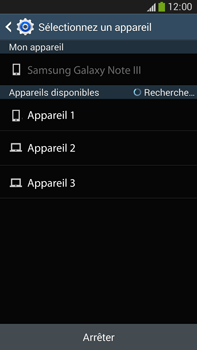 Samsung Galaxy Note 3 - Photos, vidéos, musique - Envoyer une photo via Bluetooth - Étape 12