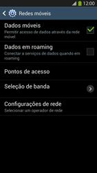 Samsung I9500 Galaxy S IV - Rede móvel - Como ativar e desativar uma rede de dados - Etapa 6