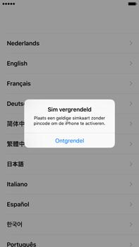 Apple iPhone 6S Plus iOS 9 - Toestel - Toestel activeren - Stap 3