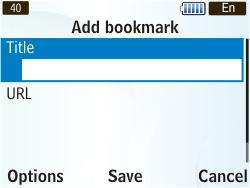 Samsung S3350 Chat 335 - Internet - Internet browsing - Step 9