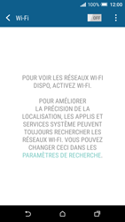 HTC One A9 - Wifi - configuration manuelle - Étape 4
